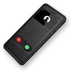 Handytasche Stand Schutzhülle Leder L06 für Apple iPhone 6S Schwarz
