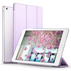 Handytasche Stand Schutzhülle Leder L07 für Apple iPad Mini 2 Violett