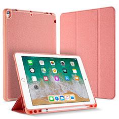 Handytasche Stand Schutzhülle Leder L07 für Apple iPad Pro 10.5 Rosegold