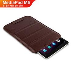 Handytasche Stand Schutzhülle Leder L07 für Huawei MediaPad M5 8.4 SHT-AL09 SHT-W09 Braun