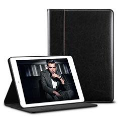 Handytasche Stand Schutzhülle Leder U01 für Apple iPad Pro 10.5 Schwarz