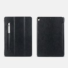 Handytasche Stand Schutzhülle mit Pencil Halter Apple iPad Pro 10.5 Schwarz
