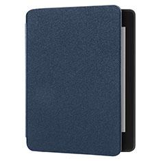 Handytasche Stand Schutzhülle Stoff für Amazon Kindle 6 inch Blau