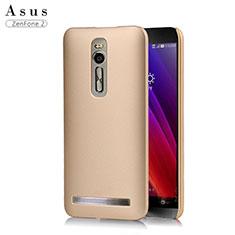Hülle Kunststoff Schutzhülle Matt für Asus Zenfone 2 ZE551ML ZE550ML Gold