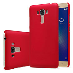 Hülle Kunststoff Schutzhülle Matt für Asus Zenfone 3 Laser Rot