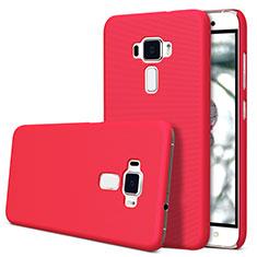 Hülle Kunststoff Schutzhülle Matt für Asus Zenfone 3 ZE552KL Rot
