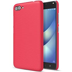 Hülle Kunststoff Schutzhülle Matt für Asus Zenfone 4 Max ZC554KL Rot