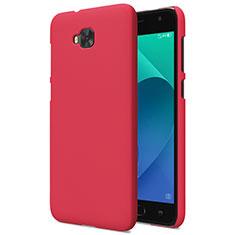 Hülle Kunststoff Schutzhülle Matt für Asus Zenfone 4 Selfie ZD553KL Rot