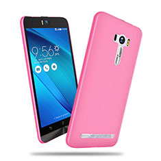 Hülle Kunststoff Schutzhülle Matt für Asus Zenfone Selfie ZD551KL Rosa