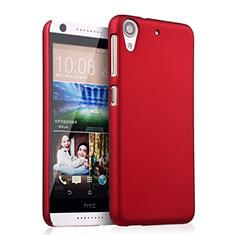 Hülle Kunststoff Schutzhülle Matt für HTC Desire 626 Rot