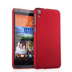Hülle Kunststoff Schutzhülle Matt für HTC Desire 820 Rot