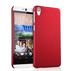 Hülle Kunststoff Schutzhülle Matt für HTC Desire 826 826T 826W Rot