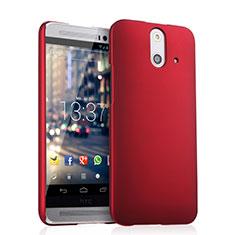 Hülle Kunststoff Schutzhülle Matt für HTC One E8 Rot