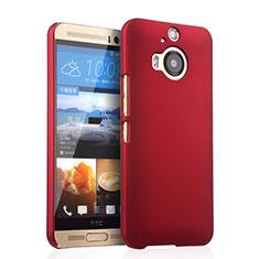 Hülle Kunststoff Schutzhülle Matt für HTC One M9 Plus Rot