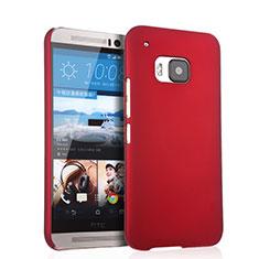Hülle Kunststoff Schutzhülle Matt für HTC One M9 Rot