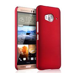 Hülle Kunststoff Schutzhülle Matt für HTC One Me Rot