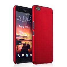 Hülle Kunststoff Schutzhülle Matt für HTC One X9 Rot