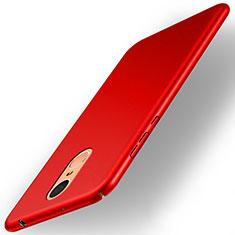 Hülle Kunststoff Schutzhülle Matt für Huawei Enjoy 6 Rot