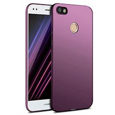 Hülle Kunststoff Schutzhülle Matt für Huawei Enjoy 7 Violett