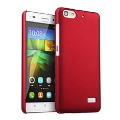 Hülle Kunststoff Schutzhülle Matt für Huawei G Play Mini Rot