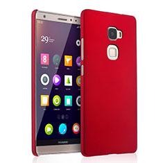 Hülle Kunststoff Schutzhülle Matt für Huawei Mate S Rot