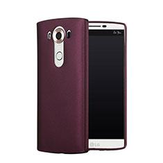 Hülle Kunststoff Schutzhülle Matt für LG V10 Rot