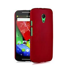 Hülle Kunststoff Schutzhülle Matt für Motorola Moto G (2nd Gen) Rot
