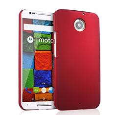 Hülle Kunststoff Schutzhülle Matt für Motorola Moto X (2nd Gen) Rot
