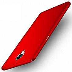 Hülle Kunststoff Schutzhülle Matt für OnePlus 3 Rot
