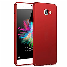 Hülle Kunststoff Schutzhülle Matt für Samsung Galaxy A7 (2017) A720F Rot