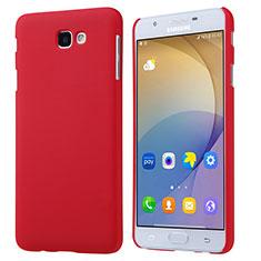 Hülle Kunststoff Schutzhülle Matt für Samsung Galaxy J5 Prime G570F Rot