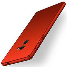 Hülle Kunststoff Schutzhülle Matt für Xiaomi Mi Mix Rot