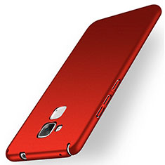Hülle Kunststoff Schutzhülle Matt M01 für Huawei GR5 Mini Rot