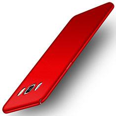 Hülle Kunststoff Schutzhülle Matt M01 für Samsung Galaxy J5 Duos (2016) Rot