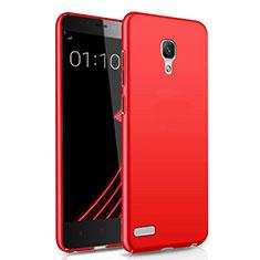 Hülle Kunststoff Schutzhülle Matt M01 für Xiaomi Redmi Note Rot