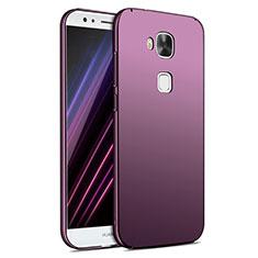 Hülle Kunststoff Schutzhülle Matt M02 für Huawei G8 Violett