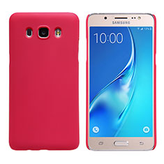 Hülle Kunststoff Schutzhülle Matt M02 für Samsung Galaxy J5 Duos (2016) Rot