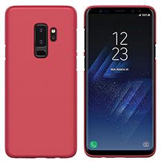 Hülle Kunststoff Schutzhülle Matt M02 für Samsung Galaxy S9 Plus Rot