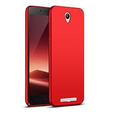 Hülle Kunststoff Schutzhülle Matt M02 für Xiaomi Redmi Note 2 Rot