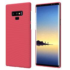 Hülle Kunststoff Schutzhülle Matt M04 für Samsung Galaxy Note 9 Rot