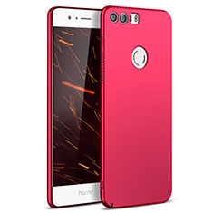 Hülle Kunststoff Schutzhülle Matt M05 für Huawei Honor 8 Rot
