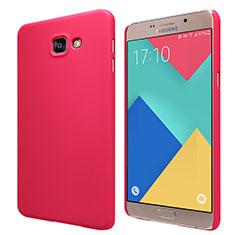 Hülle Kunststoff Schutzhülle Matt M06 für Samsung Galaxy A9 Pro (2016) SM-A9100 Rot