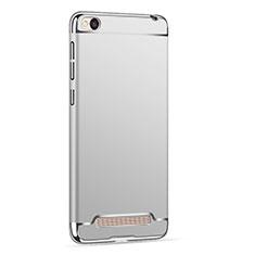 Hülle Luxus Metall Rahmen und Kunststoff für Xiaomi Redmi 4A Silber