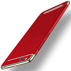 Hülle Luxus Metall Rahmen und Kunststoff für Xiaomi Redmi 5A Rot