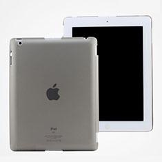 Hülle Ultra Dünn Schutzhülle Durchsichtig Transparent Matt für Apple iPad 3 Grau