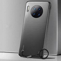 Hülle Ultra Dünn Schutzhülle Tasche Durchsichtig Transparent Matt für Huawei Mate 30 Pro Schwarz