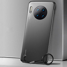Hülle Ultra Dünn Schutzhülle Tasche Durchsichtig Transparent Matt für Huawei Mate 30 Schwarz