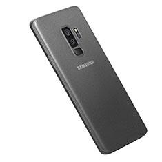 Hülle Ultra Dünn Schutzhülle Tasche Durchsichtig Transparent Matt für Samsung Galaxy S9 Plus Grau