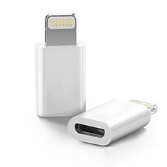Kabel Android Micro USB auf Lightning USB H01 für Apple iPod Touch 5 Weiß