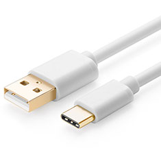 Kabel Type-C Android Universal T01 für Sony Xperia L2 Weiß